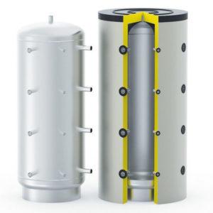 Буферная  емкость с теплоизоляцией  S-TANK  AT  300- 5000 л.