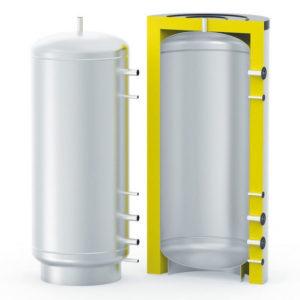 Буферная емкость с теплоизоляцией   S — TANK  ЕТ  300 — 5000 л.