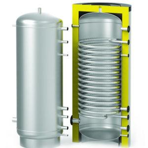 Бак с изоляцией для проточного нагрева ГВС S-TANK  HFWT 300- 2000 л.
