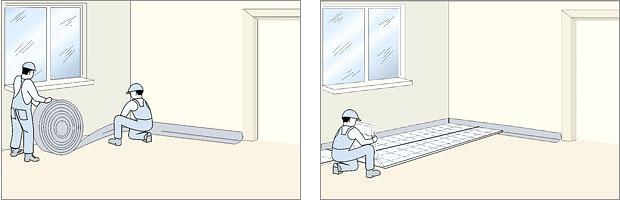 Подпольное отопление