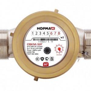 Счетчик горячей воды НОРМА СВКМ32Г антимагнитный Ду32 L=160