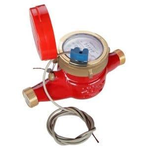 Счетчик горячей воды Ду 20 (СВКС-20ГИ) импульсный выход
